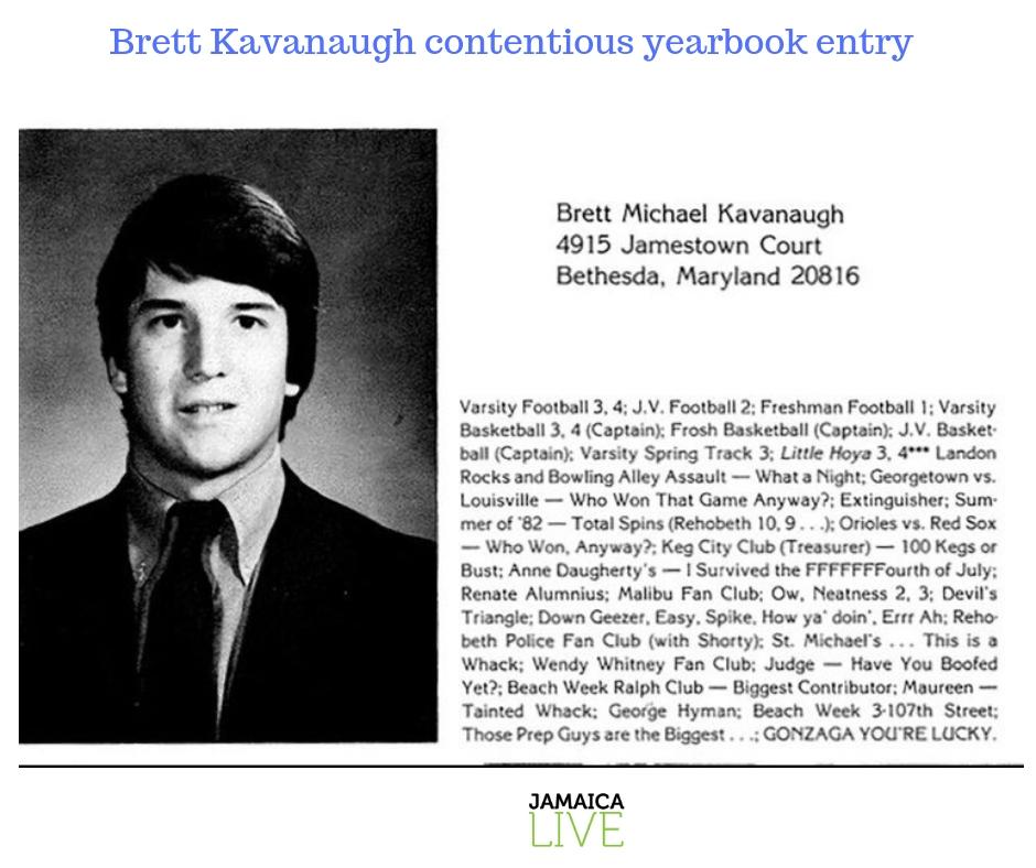 Brett yearbook