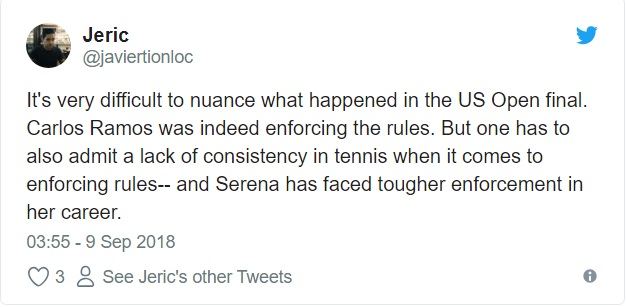 Fans agreed with Serena2