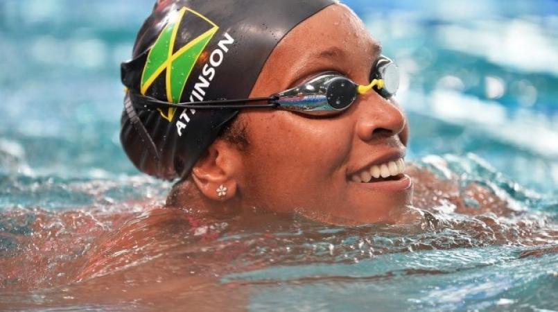 Jamaican Alia Atkinson Breaks Own Record At Swimming World Cup