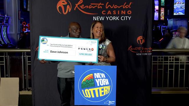 Jamaican lottery winner