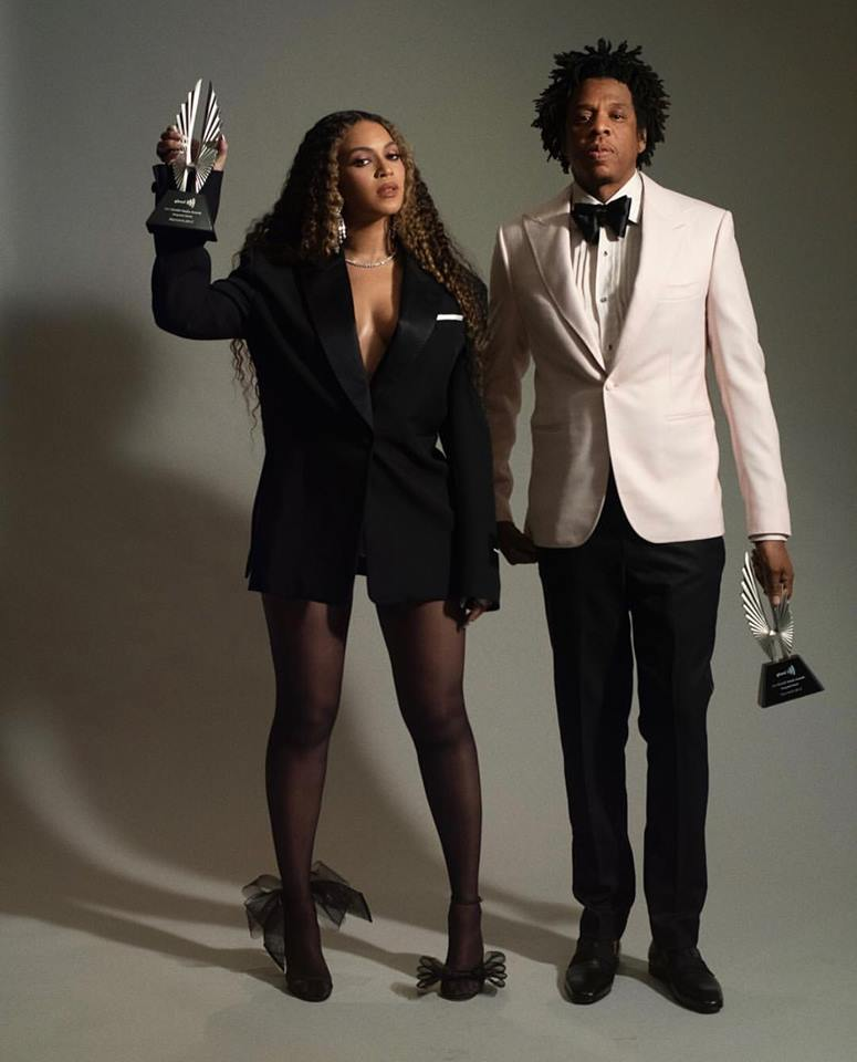 Jay and Bey GLAAD