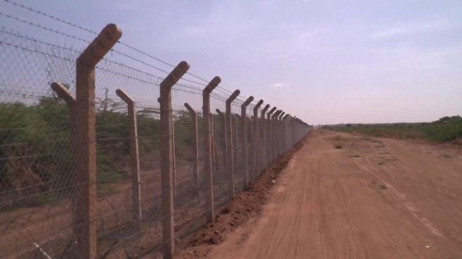 Kenya border fence