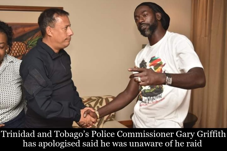 Trinidad and Tobago's Police Commissioner Gary Griffith & Buju Banton