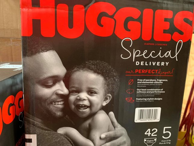 Huggies' Historic Move: Black Father & Child on it's Packaging For The First Time