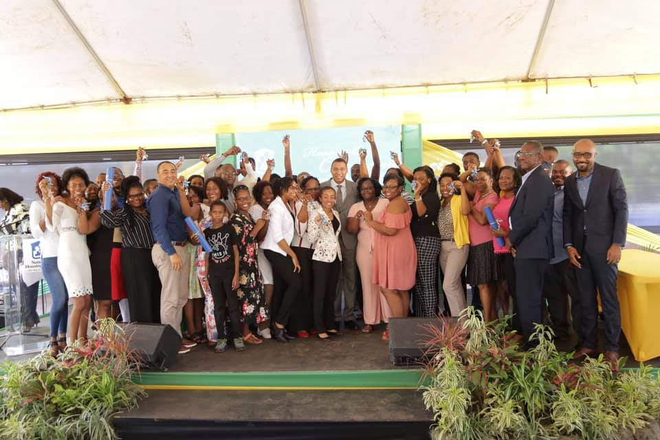 37 Jamaicans Celebrating their New Homes!