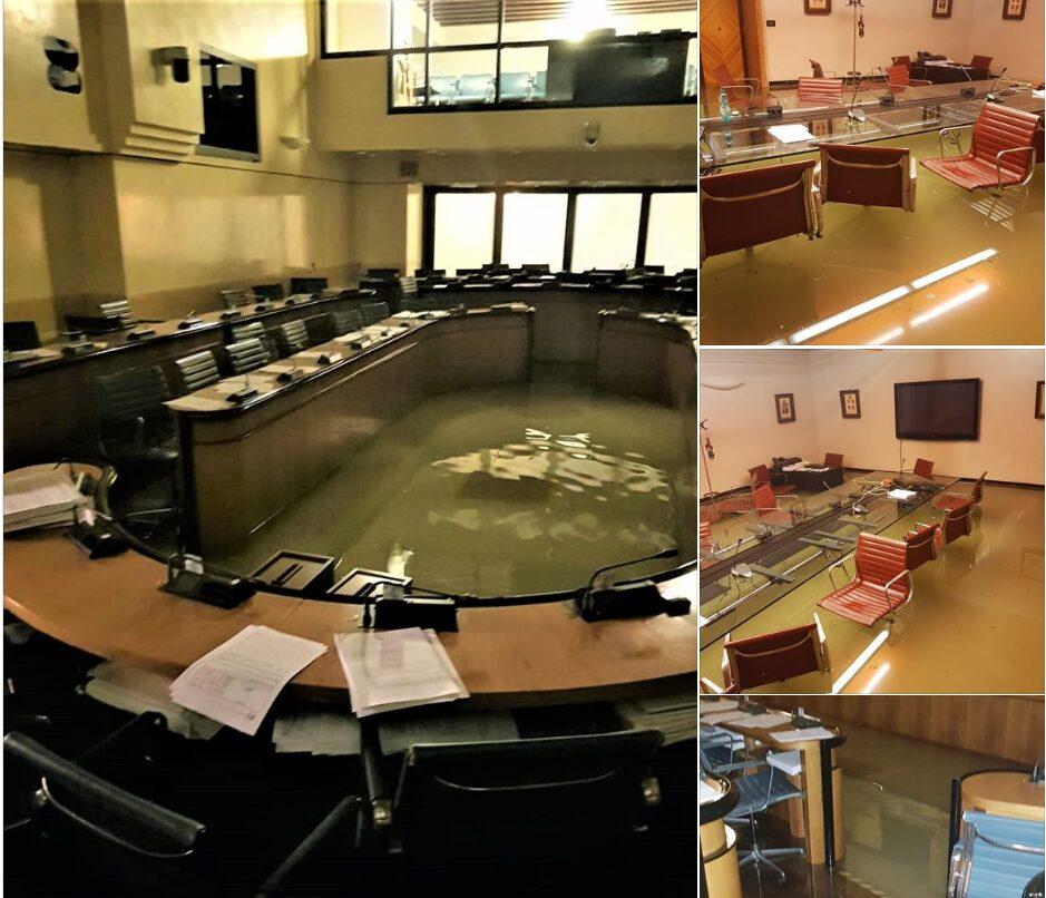 Italian Chamber Flooded