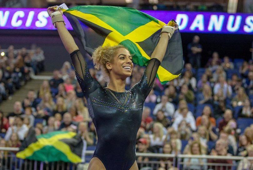 Danusia-Francis-Jamaican-Gymnast-Team-Jamaica