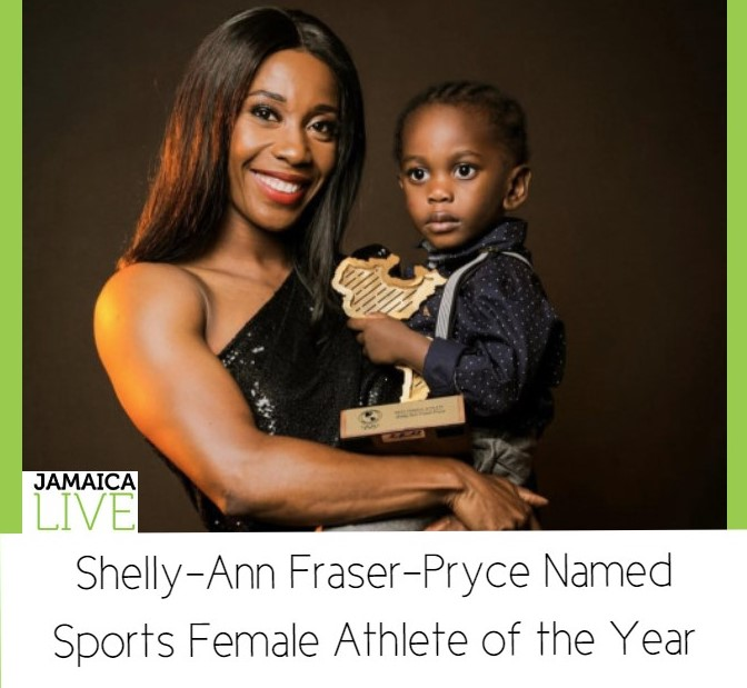 Shelly-Ann Fraser Pryce Female Athlete of the Year