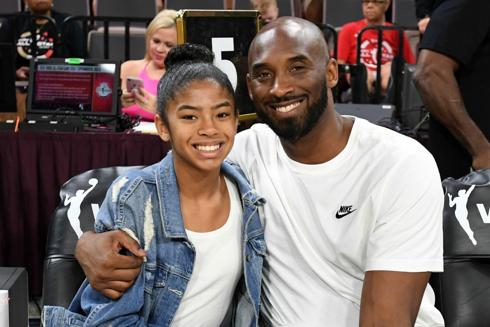 Kobe and Gianna Maria