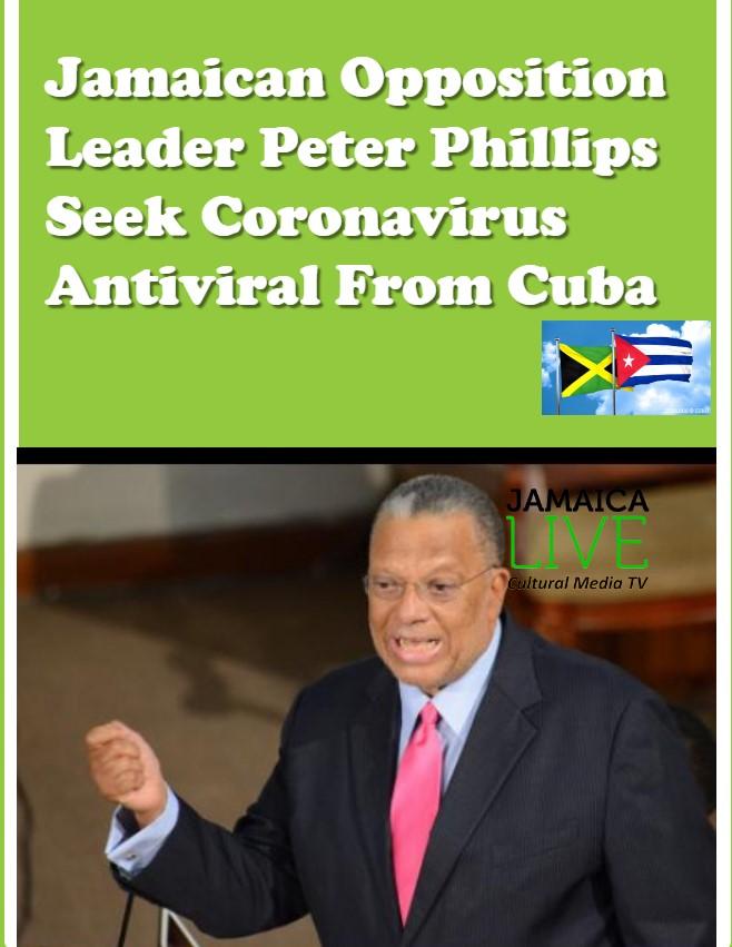 Peter Phillips Seeks Coronavirus Antiviral Drug From Cuba
