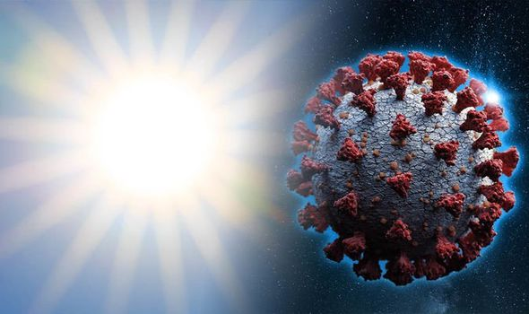 Sunlight on the coronavirus