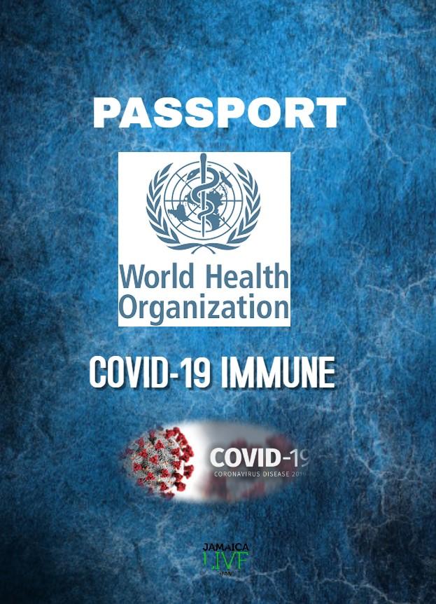 Immunity Passport Created By Jamaica Live