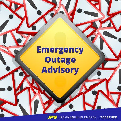 #EmergencyOutageAdvisory: - St Catherine , Wednesday May 20, 2020.  Duration: 4:00 pm - 6:00 pm Affected areas: WAKEFIELD, COOLSHADE MEXICO, BANBURY DISTRICT, BUXY TOWN