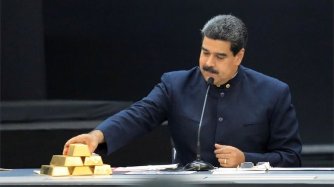 REUTERS Nicolás Maduro's government wants access to the Venezuelan gold stored at the Bank of England