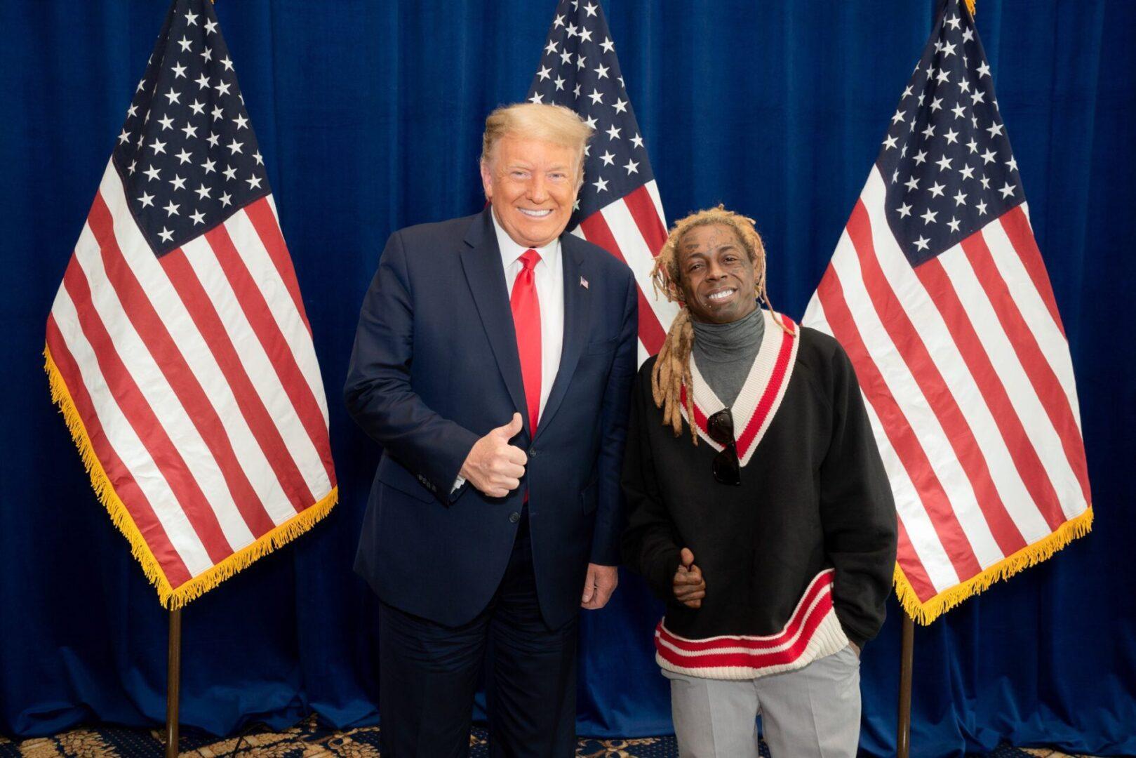 Donald Trump & Lil Wayne