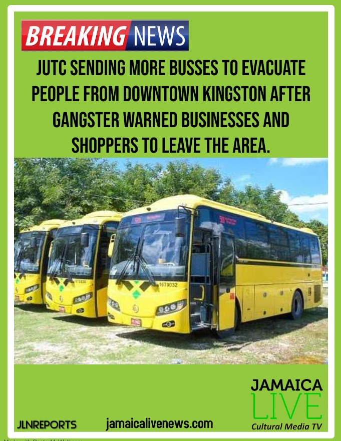 JUTC SENDING BUSSES TO KINGSTON